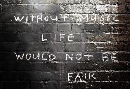 Music quote cas128: Post Secrets, Truth, Music Quotes, True, Music Life, Fair, Postsecret