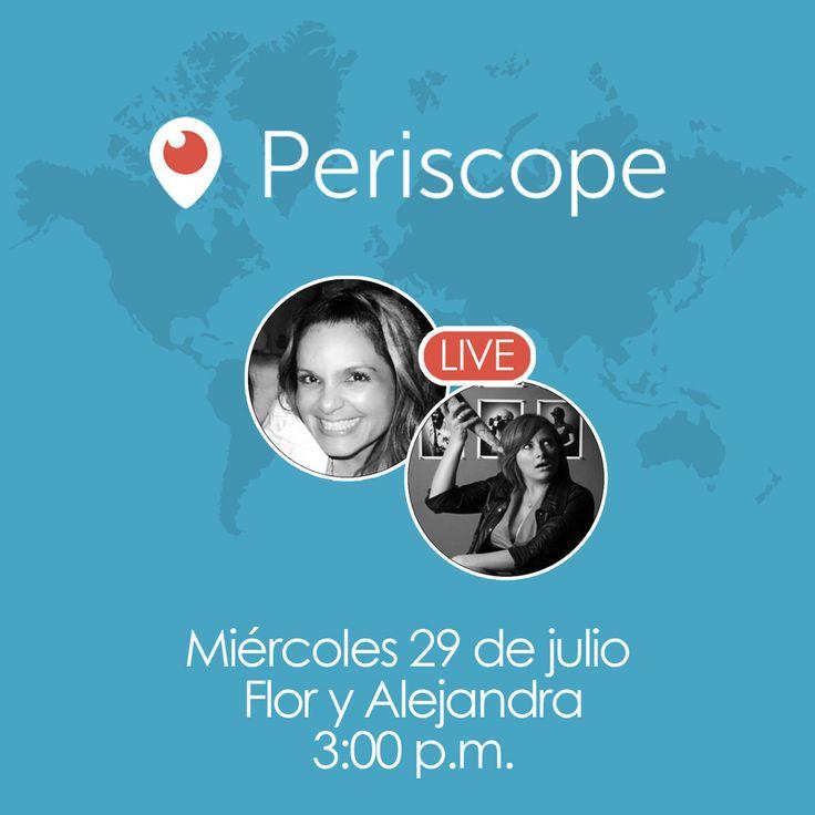 Este miércoles a las 3:00pm por #Periscope hablaremos de Relaciones Públicas y protocolos