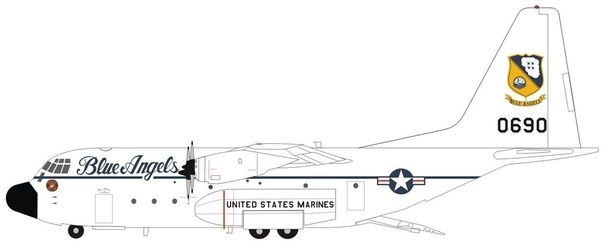 Hercules KC-130F / L-282 (US Marines 150690, Fat Albert Airlines #1,