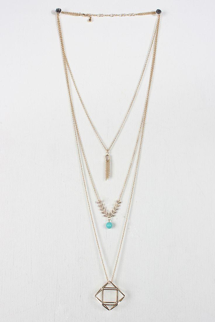 Geo Layering Necklace