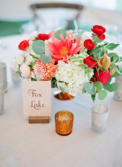 So much pretty: http://www.stylemepretty.com/2015/04/14/rustic-chic-minnesota-lakeside-wedding/ | Photography: Laura Ivanova - http://www.lauraivanova.com/
