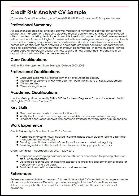Nice Cool Credit Analyst Resume Example From Professional Check More At Http Snefci Org Cool Credit Analyst Certificate Templates Templates Resume Template