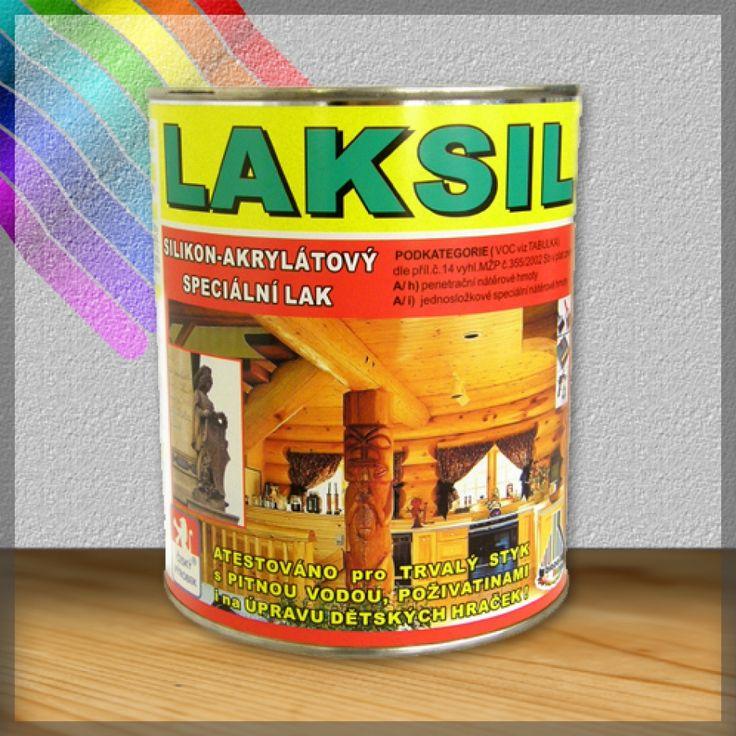 LAKSIL - silikon akrylátový email