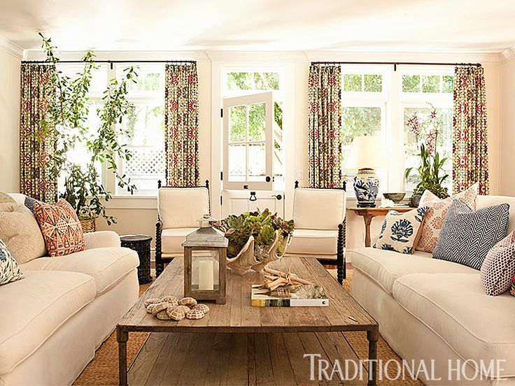 traditional home living rooms. 106 best Living Rooms by the Sea images on Pinterest  Beach Brown and Cozy