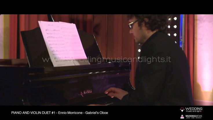 Piano And Violin Duet #1 - Gabriel's Oboe  http://weddingmusicandlights.it/