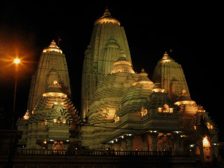 Birla Mandir in Kolkata, India, is a Hindu temple on Asutosh Chowdhury Avenue, Ballygunge, built by the industrialist Birla family.On the bi...