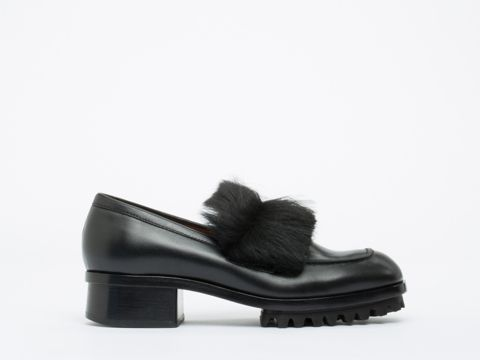 Acne Studios Maisie in Black at Solestruck.com