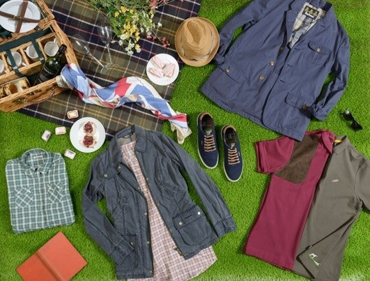 Moodboard Barbour summer 13