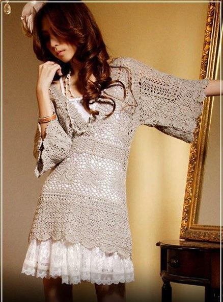 gorgeous #crochet dress!!
