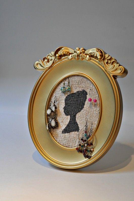 Jewellery Organizer Tutorial (that doubles as a fabulous art piece