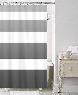 Minimal Decor Shower Curtains And Ombre On Pinterest
