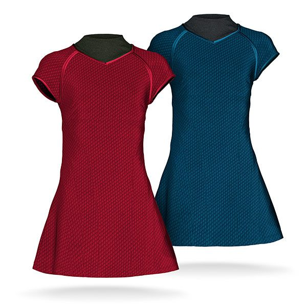 Star Trek Into Darkness Tunic Dress Replicas