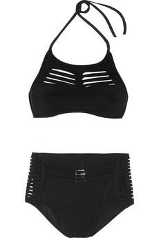JETS by Jessika Allen White Label|Ultimate laser-cut molded bikini|NET-A-PORTER.COM - StyleSays
