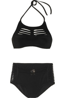 JETS by Jessika Allen White Label | Ultimate laser-cut molded bikini | NET-A-PORTER.COM - StyleSays