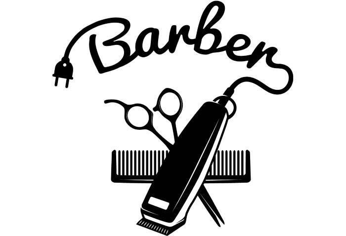 Barber Logo Barbershop Design Black Barber Shops
