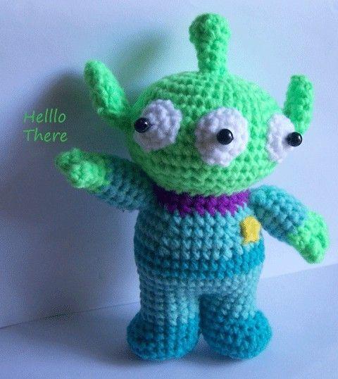 Amigurumi Toy Story : Instant Download Amigurumi Crochet PDF Pattern - Monster ...
