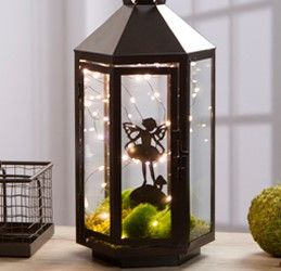 Lighted Fairy Garden Lantern