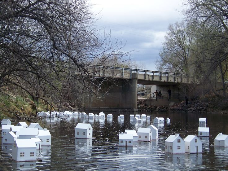 Stephanie Beck - Public Installations and Events - Little Houses Projects, Fort Collins, CO: January - April2011