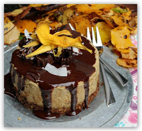 Raw mini mango-og sjokoladekake! (En helseblogg om jakten etter en friskere...)