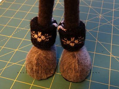 manóláb tutorál gnome shoes diy ... foltról foltra...: Éppen egy hónapja