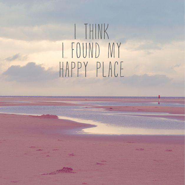"""Kunstdruck """"Happy Place"""" // print by stine wiemann via DaWanda.com"""