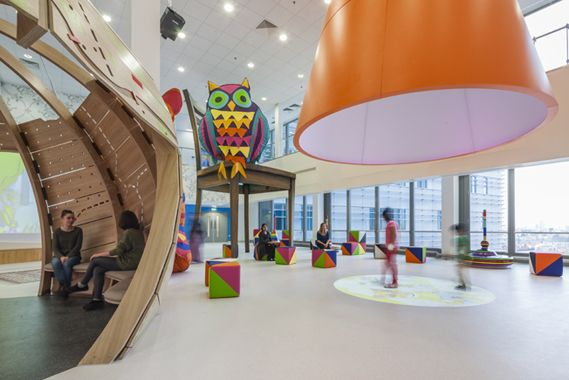 Creative Review - Playtime at The Royal London's Children Hospital    What a cool place. You can imagine the feeling you get when you step into that room. It's bring you back to your childhood feelings.