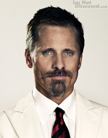 Viggo Mortensen he looks delicious, but I don't like him covering the sexy cleft chin. NONSENSE. #facialhair4ever