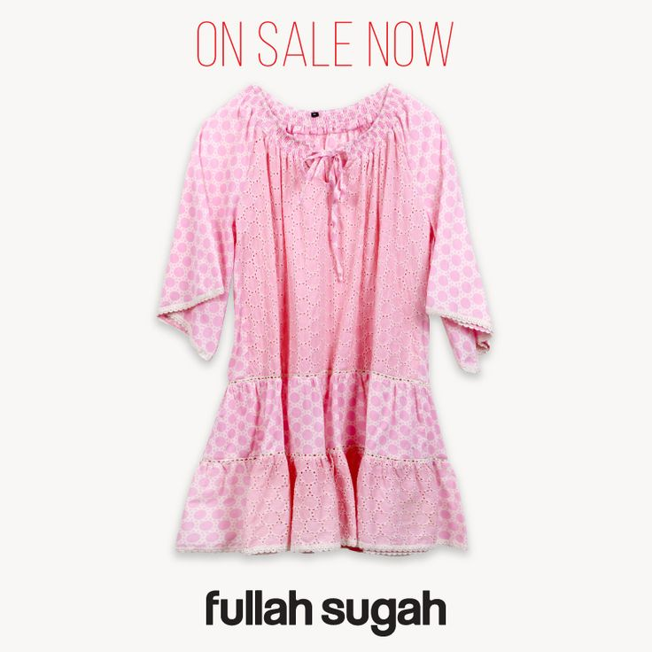 On Sale Now at Fullah Sugah Περφορέ πουά μίνι φόρεμα | 1422101151 #sales #dresses #trends #style #fullah_sugah