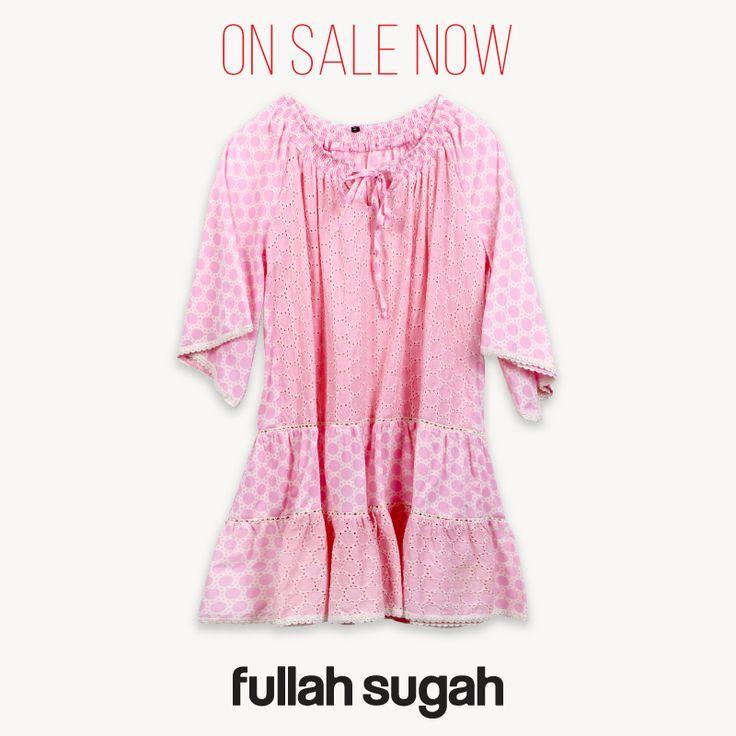 On Sale Now at Fullah Sugah Περφορέ πουά μίνι φόρεμα   1422101151 #sales #dresses #trends #style #fullah_sugah
