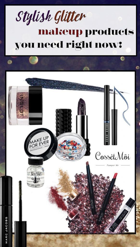 Glitter Makeup Products that are not just for teenagers!