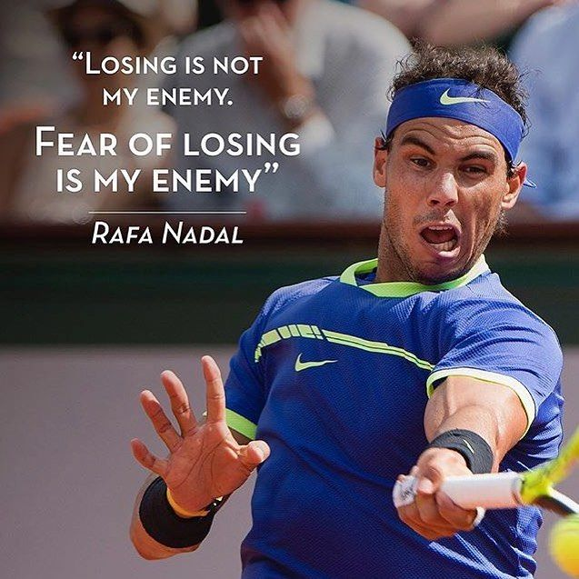 Tennis Quotes Rafael Nadal Quotes Tennis Motivation Inspiration Tennis Quotes Tennis Player Quote Rafael Nadal Quotes