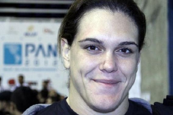 Could we see Brazilian jiujitsu Hall of Famer Gabi Garcia fight a man?  Standing at 6-foot-2 and weighing 238 pounds, Brazilian jiujitsu Hall of Famer Gabi Garcia is going to have a difficult time finding women to compete with her in MMA.  After winning more than10 gold medals in major grappling competitions