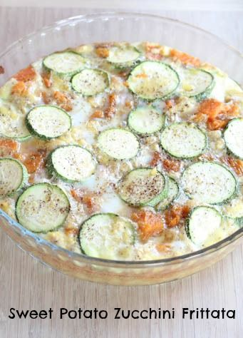 sweet potato zucchini frittata sweet potato zuchhini frittata ...