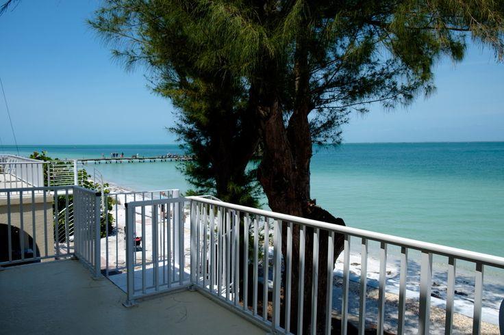 "Beachfront bliss on Anna Maria Island,  at ""Banana Beach"" vacation rental home."