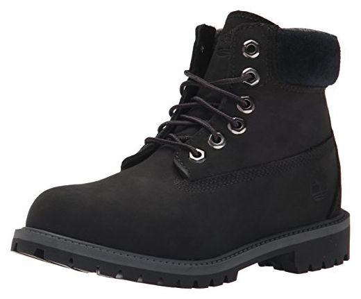 A13KE|Timberland 6-Inch Premium Boot Shearling Black|39,5 - Stiefel für frauen (*Partner-Link)