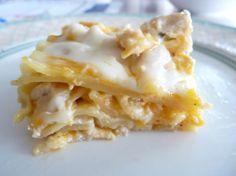 Easy Cheesy Chicken Lasagna... Yummy!