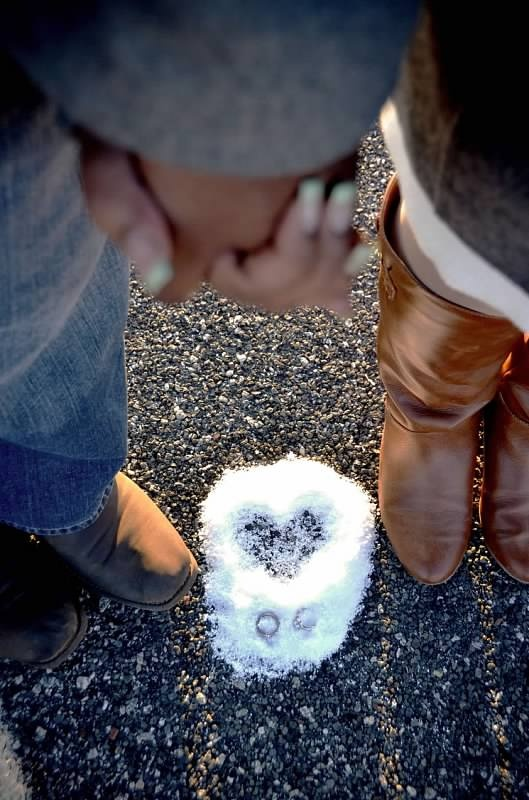 Winter Love Photo Shoot Copyright Amber S Wallace Photography