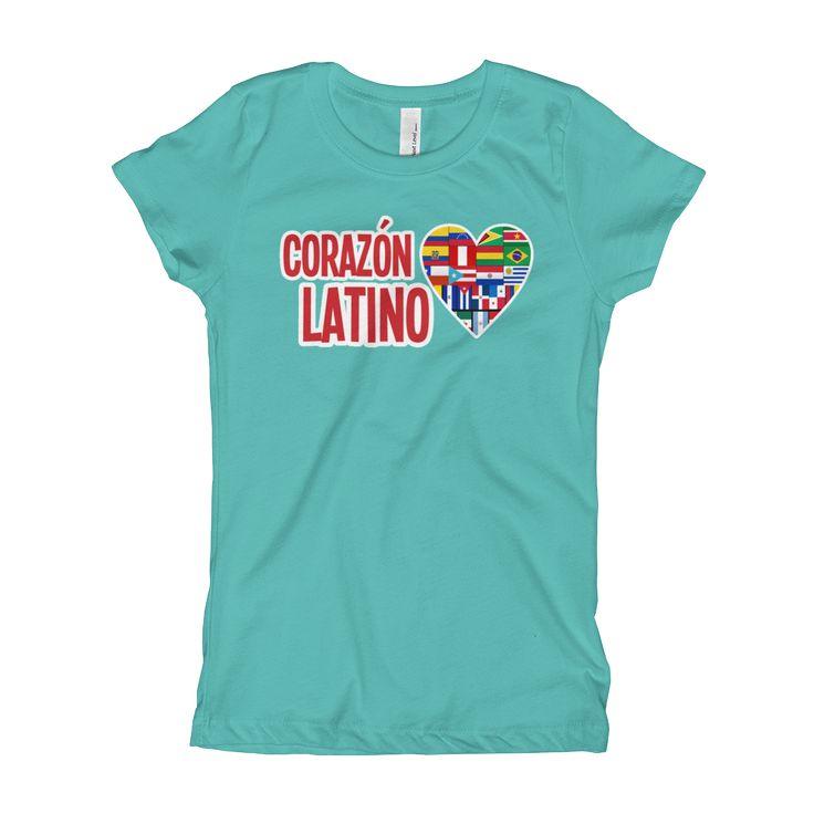 Corazon Latino Girl's T-Shirt
