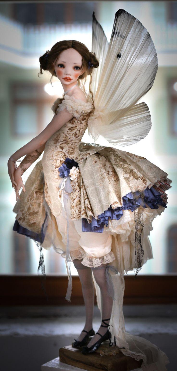 Butterfly. Artist doll by Alisa Filippova | Art Dolls Store