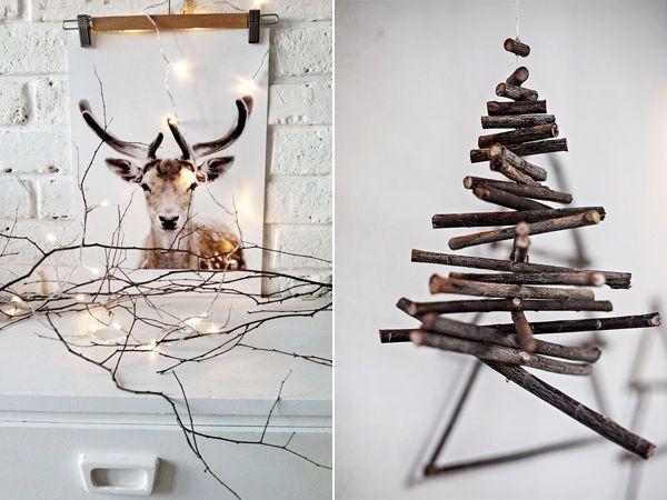 DIY Alternatieve kerstbomen | I ♥ Eco
