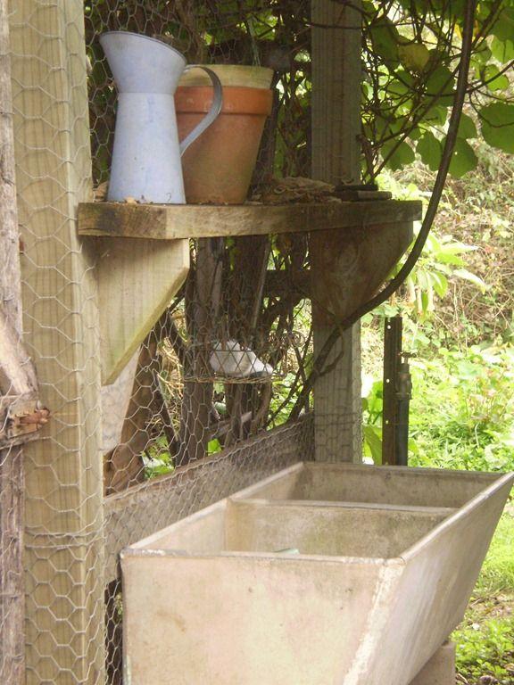 Old cement wash tub for outdoor sink Garden Sink Ideas Pinterest ...