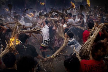 FIRE WAR PEACE Photo by Wawan Focusfeel -- National Geographic Your Shot