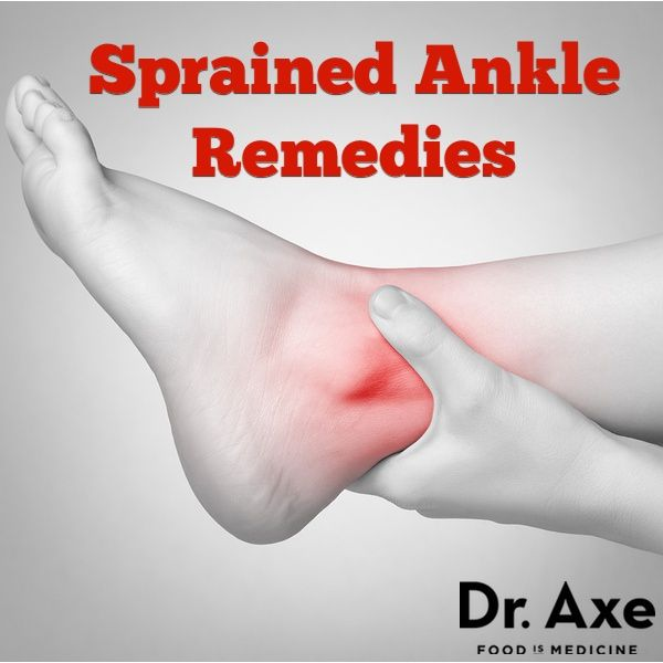 sprained ankle and other sprains... remedies