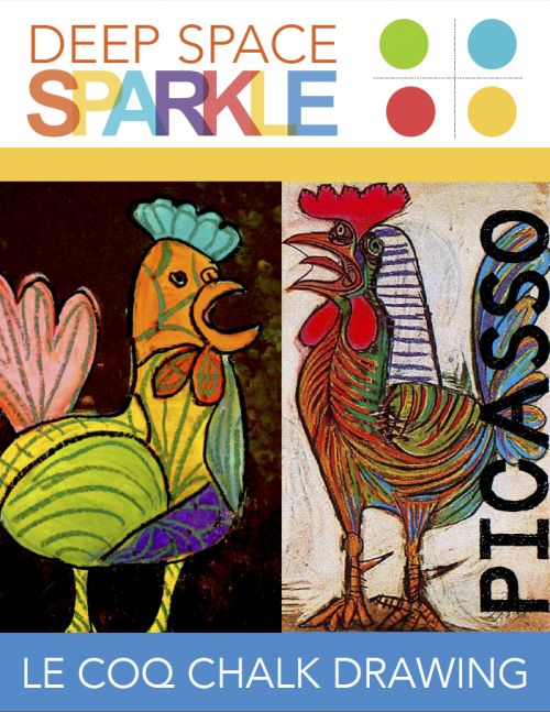 Picasso's Le Coq (The Rooster) Lesson Plan | Deep Space Sparkle