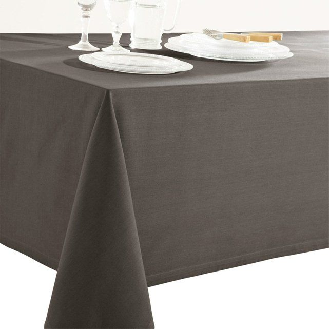 Dark grey - Plain Tablecloth