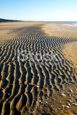 Pakawau Beachscape, Collingwood, Golden Bay, New Zealand Royalty Free Stock Photo