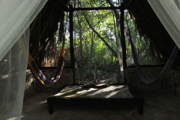 Échale un vistazo a este increíble alojamiento de Airbnb: MAYAN room @ archeological villa - Cabañas for Rent en tulum