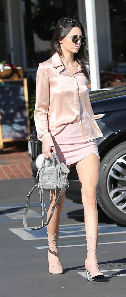 We're loving Kendall Jenner's all-pink ensemble