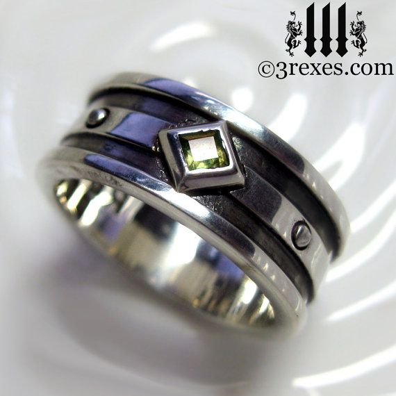 Fresh This unisex Gothic silver ring is heavily inspired by the Medieval wedding rings worn by royalty