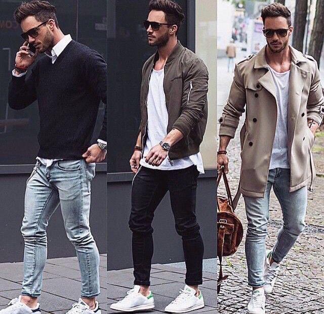 Autunno moda uomo
